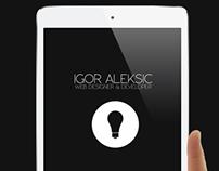 Igor Aleksic | Curriculum Vitae | Resume