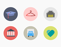 Professional sectors iconography