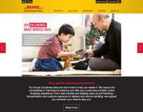 DHL eCommerce Asia Website Design