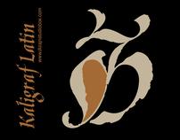 Kaligraf Latin Font