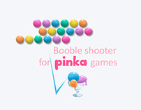Booble Shooter for Pinka games. Part 1.