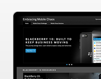Blackberry - Embracing Mobile Chaos