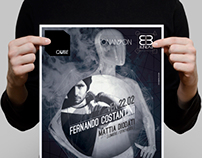 Flyer for #qube club Pescara