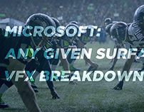 Microsoft - Any Given Surface - VFX Breakdown