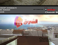 "Visual identity kit ""ramadan karim"" for echorouk tv"