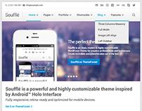 Soufflé — Responsive Retina ready WordPress Theme