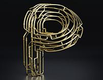 Copper C-3PO Typography