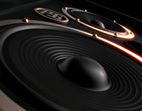 Speaker Concept Design/3D stills & animation