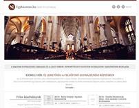 Egyhazzene.hu | Redesign