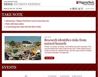 Virginia Tech Student Daily Email