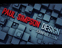 Design and animation showreel 2013