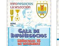Tarjeta de invitación evento empresarial en Uruguay