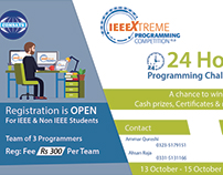 Registration Poster for programming competition