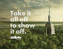 GILLETTE MONUMENTS (Press & Outdoor)