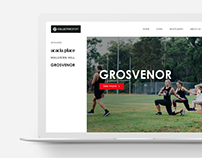Collective Sport - Web Design