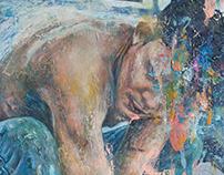 """Matador II"", oil on canvas"