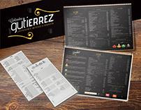 Cardápio e peças Calçadão Gutierrez