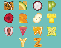 Fruity Alphabet