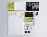 Branding for CITIZEN men's multibrand stores