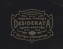 Desiderata Typeface