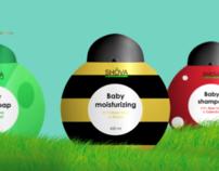 SHOVA eco-friendly products for children