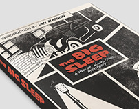 The Big Sleep Book Cover Illustration