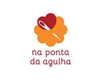 Na Ponta da Agulha - Visual identity