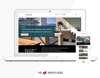 Diseño web Armonic Stone & Wood Design