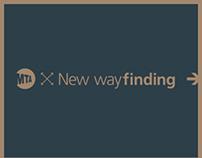 MTA + New wayfinding