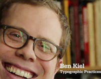 Ben Kiel: Typographic Practices