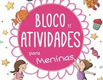 Exercise book | Bloco de actividades para meninas · PT