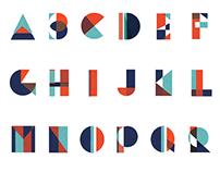 Bushwickfest 2015 Typeface