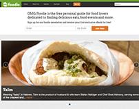 Web: OMG Foodie Website