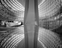 Tokyo International Forum Monochrome