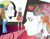 Baroque & Minimaliste /// Skool Fashion Show