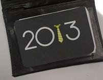 Wallet calendar 2013
