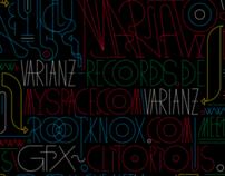 Varianz Records / Varianz 12 - 15 / Vinyl