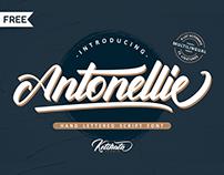 Free l Antonellie Script Font