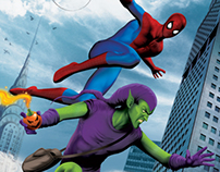 Spider vs Goblin  |  2012