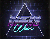 NEWRETROWAVE: Party Poster.