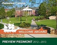 2012 Admissions Materials - Piedmont College