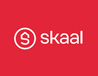 Skaal, digital real estate agency - Brand design