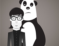 Dont touch me on my panda