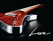 Lava Drops - Premium Innovative Handcrafted Guitars