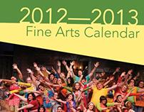 2012-13 Fine Arts Calendar - Piedmont College