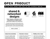 Open Product Licenses