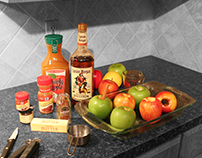 Captain Morgan Rum - Cooking with the Captain