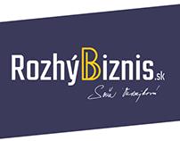 RozhýbBiznis.sk - Brand identity + Naming + Website