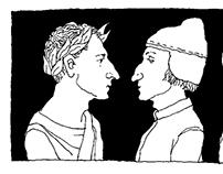 Virgil, Dante, and Beatrice