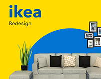 IKEA redesign. Mobile application